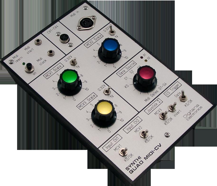 Synthi AKS Quad MIDI-CV