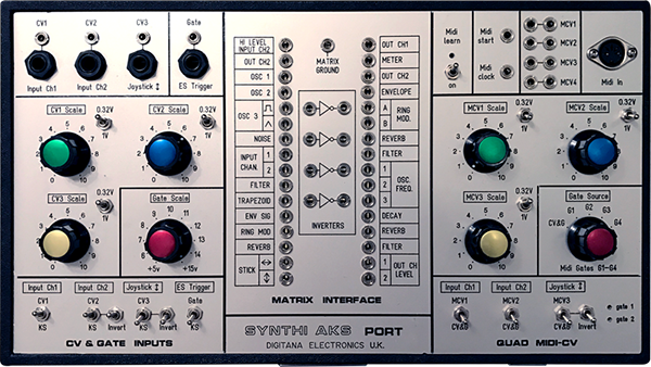 Synthi AKS Space Port