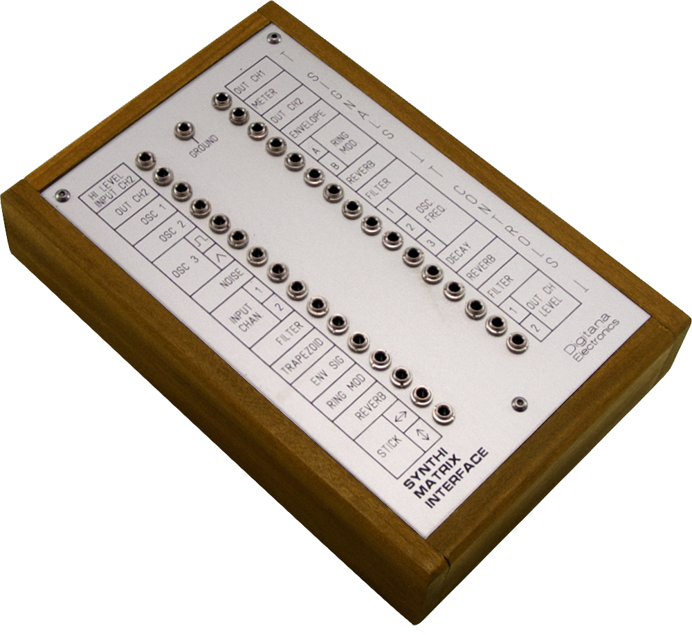 Synthi VCS3 Matrix Interface