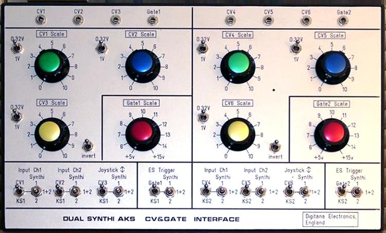 Dual Synthi AKS CV&Gate Interface