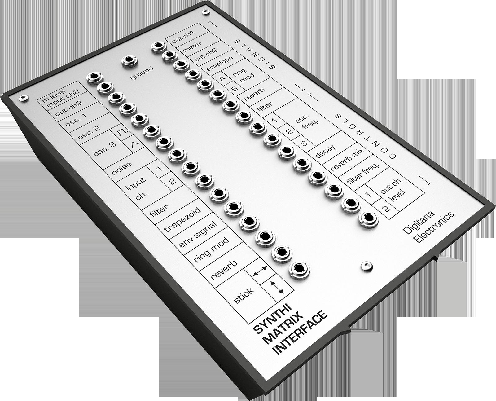 Synthi AKS Matrix Interface