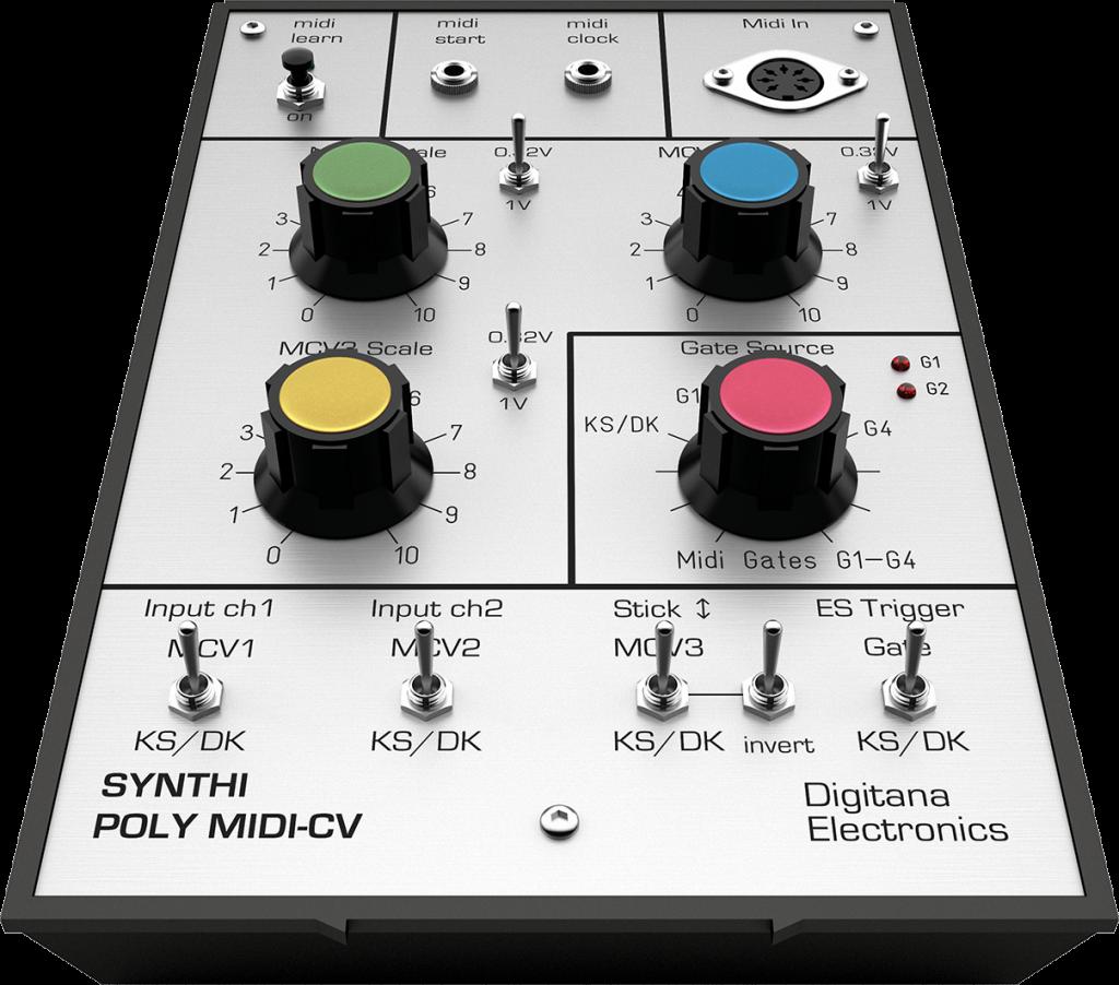 Synthi AKS Poly-MIDI CV