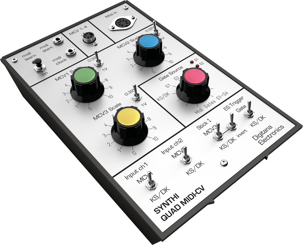 Synthi AKS Quad-MIDI