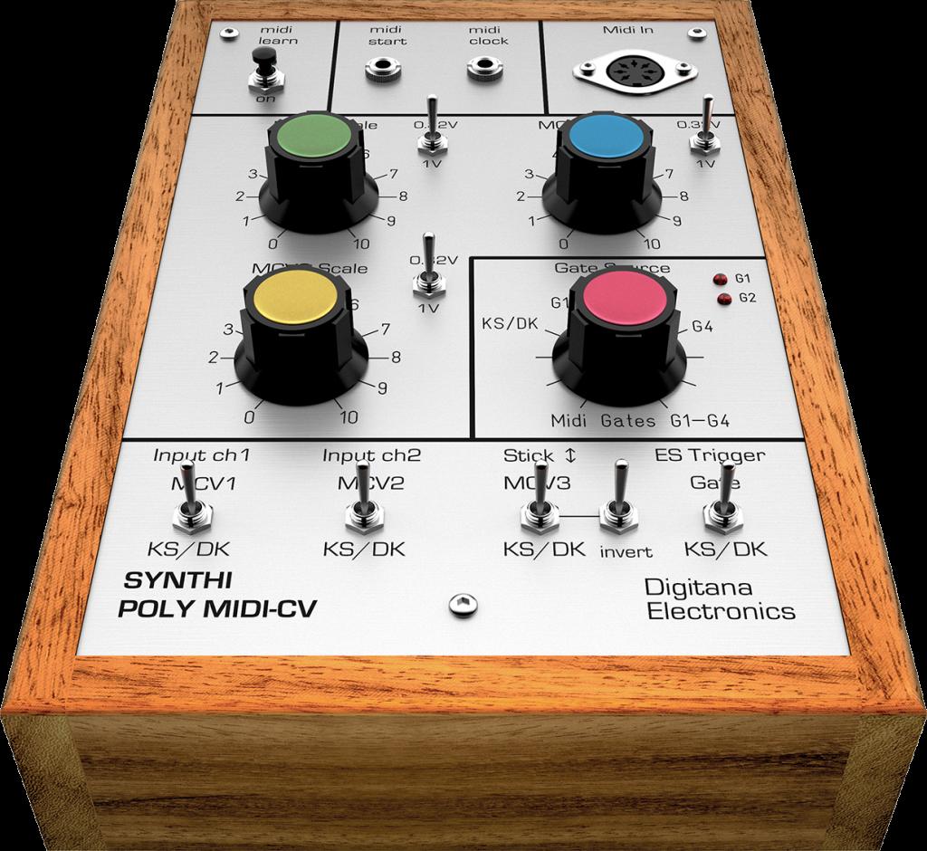Synthi VCS3 Poly-MIDI CV