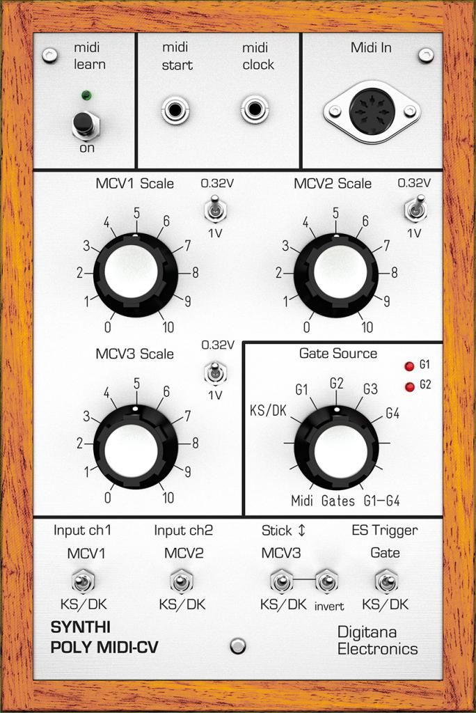 Synthi VCS3 Poly-MIDI CV (Mk1)