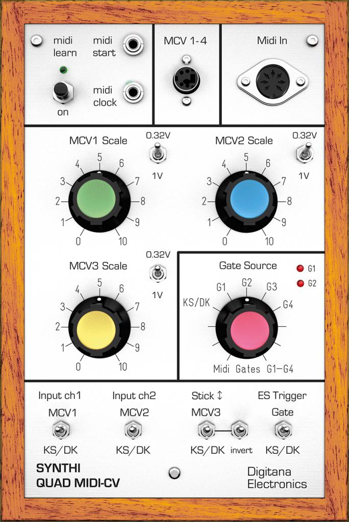 Synthi VCS3 Quad-MIDI