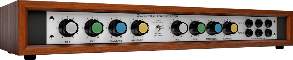 Dual High Pass Filter Rack Module