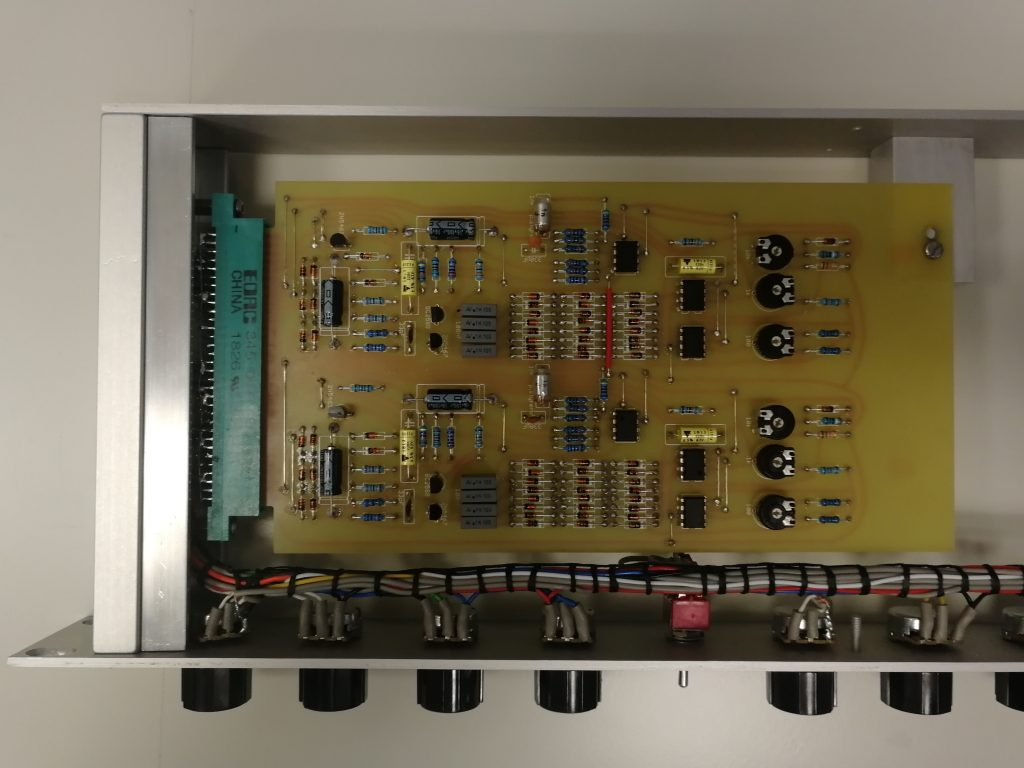 Dual High Pass Filter Rack Module assembly